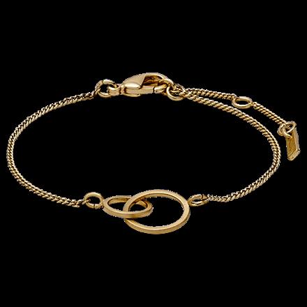PILGRIM armbånd, guld belagt