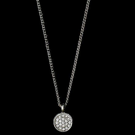 PILGRIM halskæde, silver plated 40+9 c
