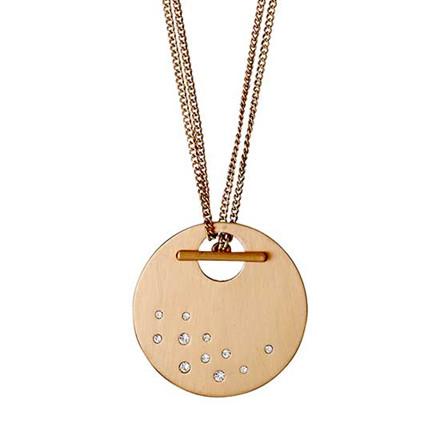 PILGRIM Necklace : Classic : Rose Gold