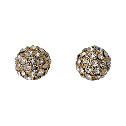 PILGRIM Earrings : Classic : Gold Plat