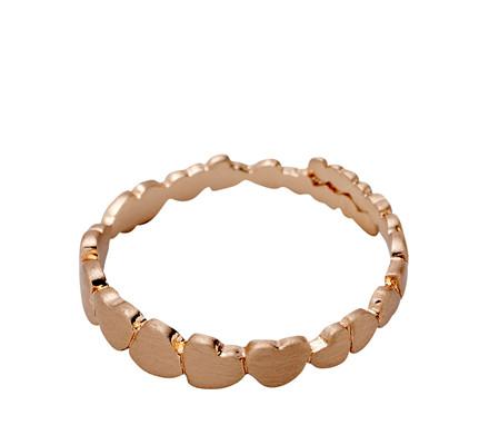 PILGRIM Ring, rosa guld