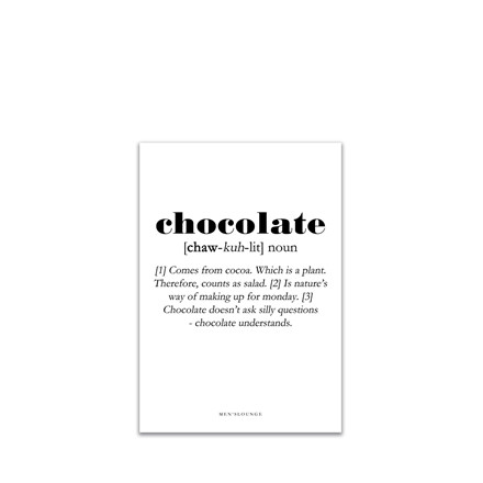 MEN'S LOUNGE Chocolate Definition A5