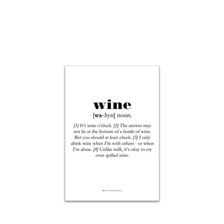 MEN'S LOUNGE Wine Definition A5