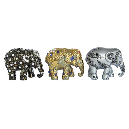 Elephant Parade 3 stk Sukhothai