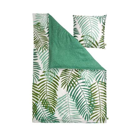 Notes by Susanne Schjerning Palm Leaves sengelinned 140 x 200 cm grøn