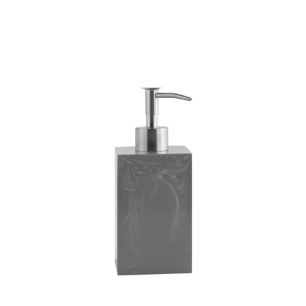 AMACE Soap Dispenser cinder 7 x 7 x 18 cm