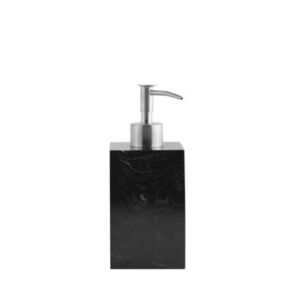 AMACE Soap Dispenser graphite 7 x 7 x 18 cm