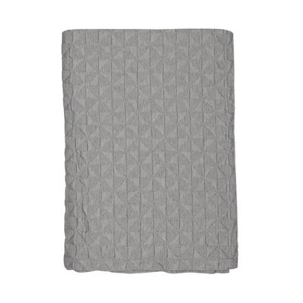 METTE DITMER Butterfly sengetæppe 140 X 250 cm mørk grå