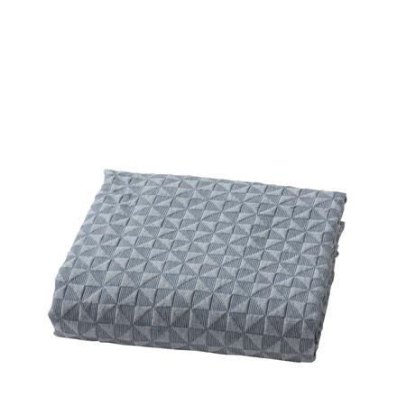 Mette Ditmer sengetæppe 280 x 250 cm blå