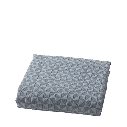 Mette Ditmer sengetæppe 250 x 240 cm blå