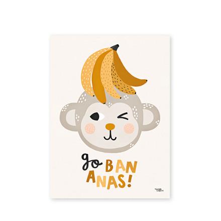 ROOM2PLAY Go Bananas 50x70 cm