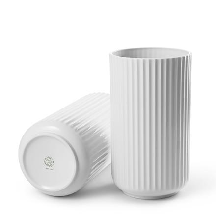 LYNGBY PORCELÆN Lyngby vase 25 cm hvid