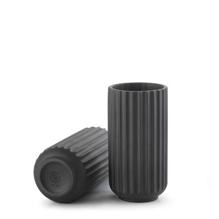 LYNGBY PORCELÆN Lyngby Vase 10 cm sort