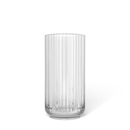 LYNGBY PORCELÆN Lyngby vase i glas 20 cm klar