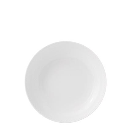 LYNGBY PORCELÆN Rhombe Coupe tallerken Ø 20 cm hvid