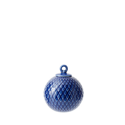 LYNGBY PORCELÆN Rhombe ophæng midnight blue