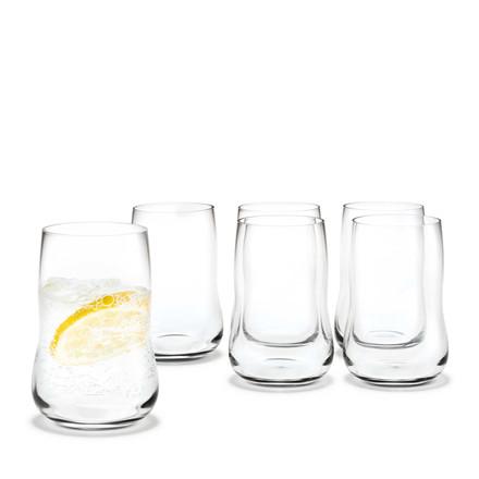 HOLMEGAARD Future glas klar 6 stk