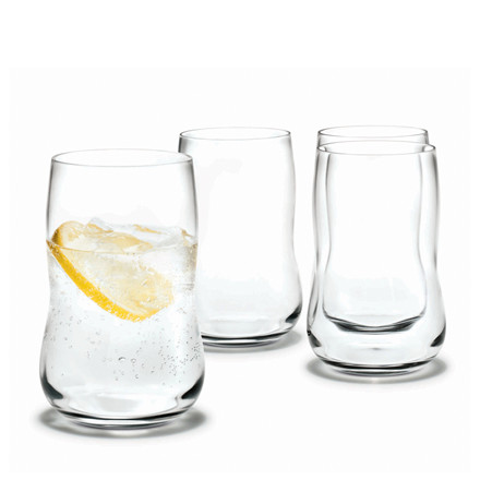 HOLMEGAARD Future glas klar 4 stk