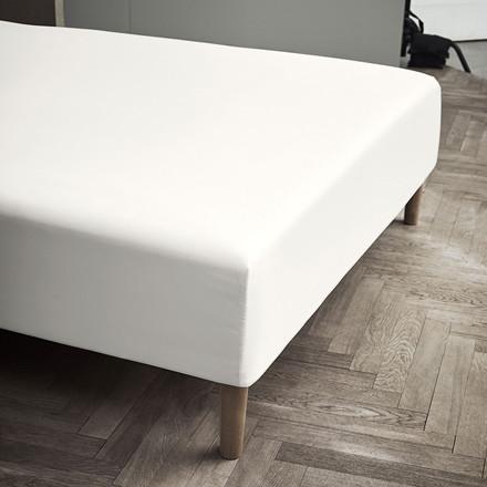 Juna Percale boxlagen 180 X 200 X 30 cm off white