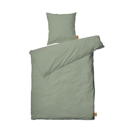 JUNA Cube sengelinned 140 X 220 cm lys grøn