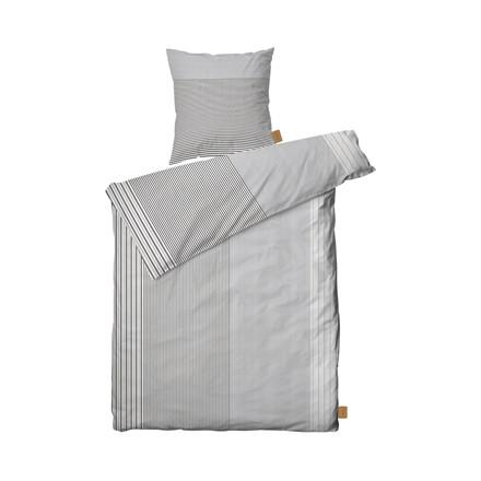 JUNA Shirt sengelinned 140 X 200 cm sort
