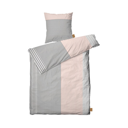 JUNA Shirt sengelinned 140 X 200 cm rosa