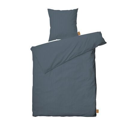 JUNA Spiga sengelinned 140x200 støvet blå