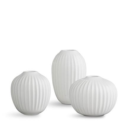 KÄHLER Hammershøi Vase miniature hvid