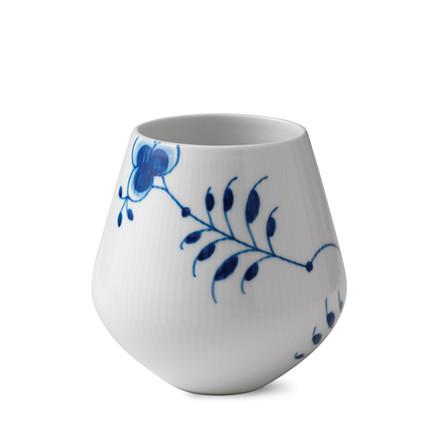 ROYAL COPENHAGEN Blå Mega vase mellem