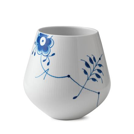 ROYAL COPENHAGEN Blå Mega vase stor
