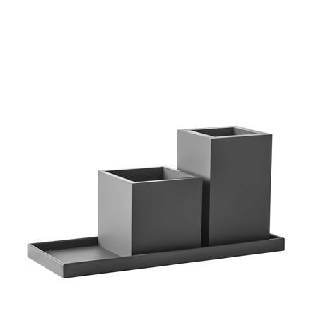 SEJ DESIGN oliebakke grå 39 X 14,5 cm