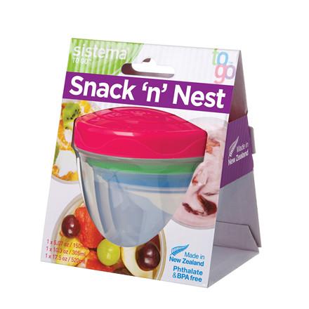 SISTEMA Stack´n Nest bokse 3 pack