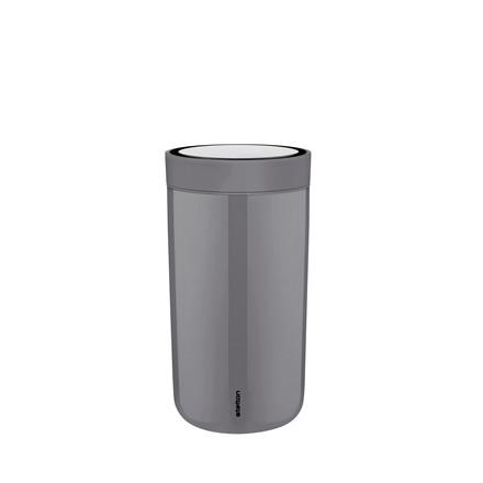 STELTON To Go Click 0,34 l stål grå