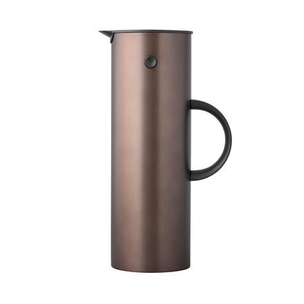 STELTON EM77 termokande 1 liter mørk brun metallic