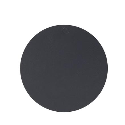 NOORT Cirkel dækkeserviet antracit Ø40
