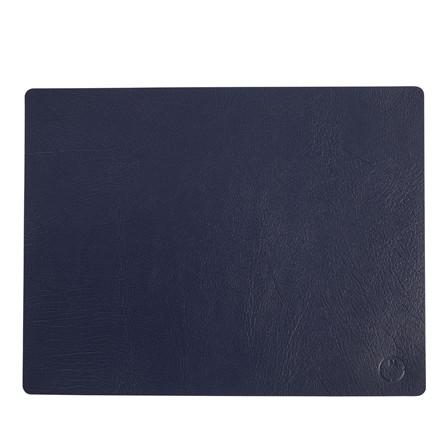 NOORT Square dækkeserviet indigo blå 42x33