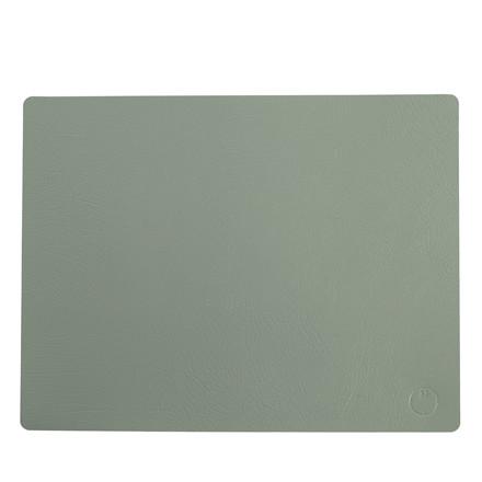 NOORT Square dækkeserviet dusty grøn 42x33