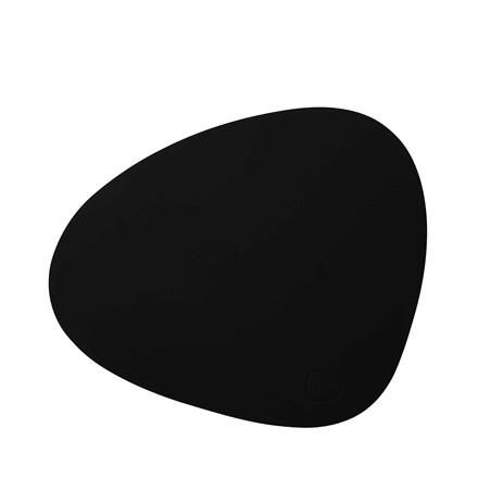 LIND DNA Softbuck curve dækkeserviet stor sort