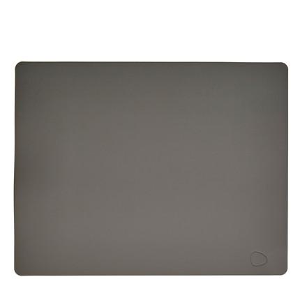 LIND DNA Softbuck square dækkeserviet stor mørk grå
