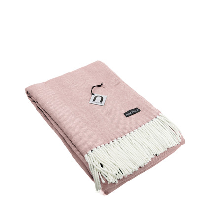 NOVOFORM Skagen throw plaid blush