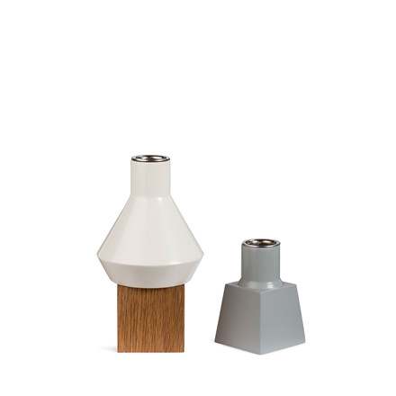 SPRING COPENHAGEN Wood lights lysestager