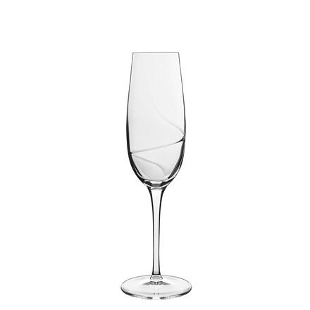 LUIGI BORMIOLI Aero champagneglas 23,5cl 6 stk.