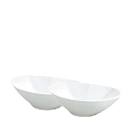 PILLIVUYT Skål oval 2 stk
