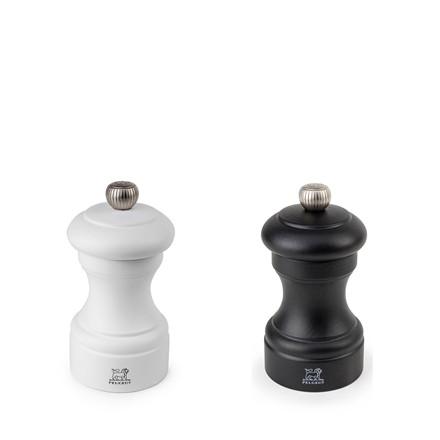 PEUGEOT Bistro salt- og peberkværnsæt hvid/sort