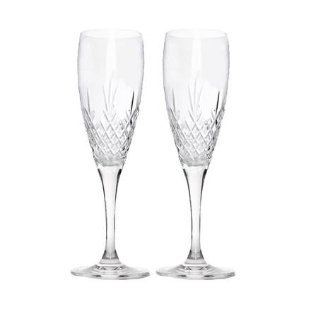 FREDERIK BAGGER Crispy Celebration 2 pak champagne krystalglas