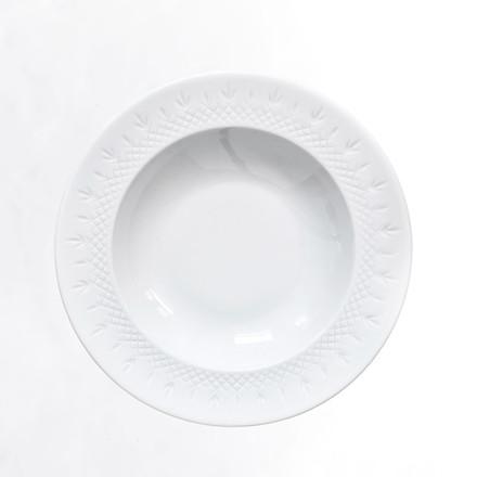 FREDERIK BAGGER Crispy deep tallerken porcelæn 22,5cm