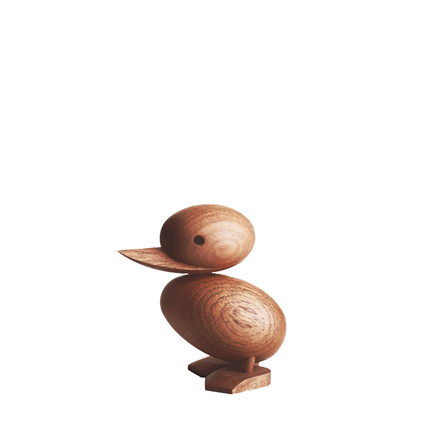 ARCHITECTMADE Duckling håndlavet teaktræ