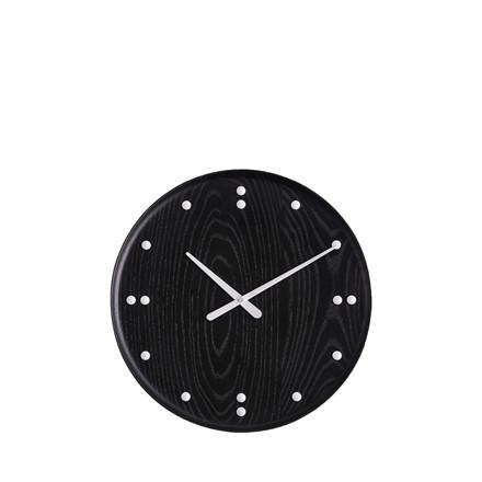 ARCHITECTMADE FJ Clock vægur i sortmalet ask