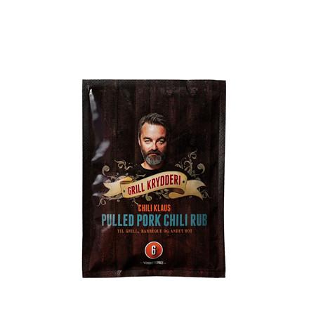 CHILI KLAUS Pulled Pork Chili Rub krydderi v. 6