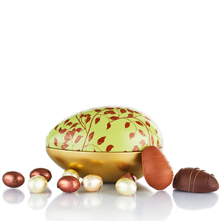 PR CHOKOLADE Mix af marcipanæg og praliné æg